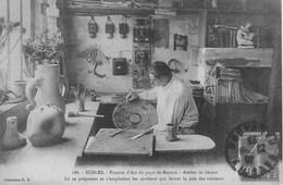 SUBLES -Poterie D'art Du Pays De Bayeux - Atelier De Décors - France