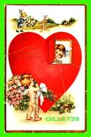 SAINT-VALENTIN - TO THE SWEETEST GIRL I KNOW - TRAVEL IN 1909 - - Saint-Valentin