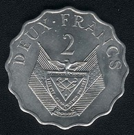 Ruanda, 2 Francs 1970, FAO, UNC - Rwanda