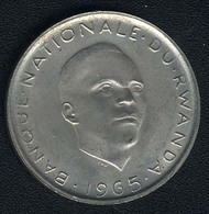 Ruanda, 1 Franc 1965, UNC - Rwanda
