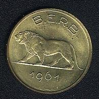 Ruanda-Burundi, 1 Franc 1961, UNC - Rwanda