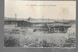 Cpa St004984 Rhénanie Wahn Le Camp Les Baraques (canons) - Kasernen