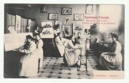 Betecom ( Aerschot ) - Pensionnat St. Joseph - Classe De Dessin Et De Peinture - RARE Cpa 1910s -Edi. D. Hendrix -Anvers - Begijnendijk