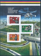 B3864 Russia Rossija Health Traffic Rules Transport S/S Colour Proof - Accidents & Road Safety