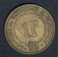 Burundi, 1 Franc 1965 - Burundi