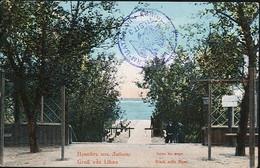 AK/CP Libau    Gel/circ. 1915   Erhaltung/Cond. 2   Nr. 01066 - Letonia