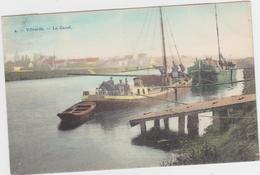 Vilvoorde - Het Kanaal (Bertels Nr 4) (gekleurde En Gelopen Prachtkaart Met Zegel) In Goede Staat - Vilvoorde