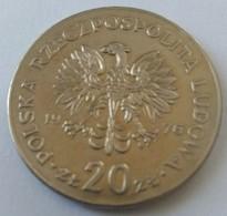 Monnaie - Pologne - 20 Zlotych 1976 - TTB - - Polonia