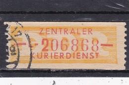 DDR, Dienst B: Wertstreifen Nr. 16 L ,  Gest. (T 16333) - [6] République Démocratique