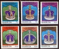 Barbuda 1978 Coronation Anniversary MNH - Antigua And Barbuda (1981-...)