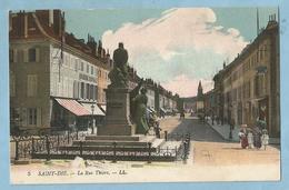 TH0743  CPA  SAINT-DIE  (Vosges)  La Rue Thiers  +++++ - Saint Die