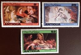 Barbuda 1978 Christmas Rubens MNH - Antigua And Barbuda (1981-...)