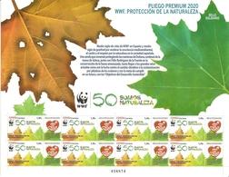 2020-ED. 5401 EN PLIEGO PREMIUM-SELLO SOLIDARIO. WWF. Protección De La Naturaleza- NUEVO - Full Sheets