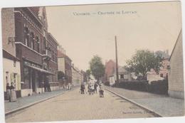 Vilvoorde - Leuvense Straat  (gekleurde, Geanimeerde En Gelopen Prachtkaart Met Zegel) In Goede Staat - Vilvoorde