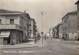 REGGIO EMILIA-VIA BISMANTOVA-CARTOLINA VERA FOTOGRAFIA -VIAGGIATA IL 19-11-1965 - Reggio Emilia