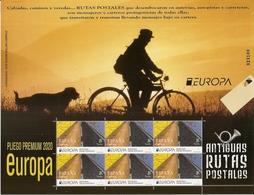 2020-ED. 5403 En PLIEGO PREMIUM-Europa. Antiguas Rutas Postales- NUEVO - 1931-Heute: 2. Rep. - ... Juan Carlos I