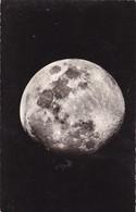 LUNE ,,,PHOTO,,,ENTRE LE 1er QUARTIER ET LA PLEINE  LUNE ,,,,TBE - Astronomia
