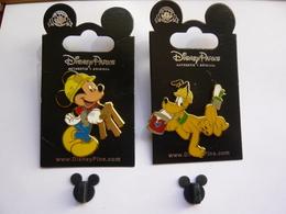 2 Big Pin S DISNEY TRAVAUX PUBLICS Tbq - Disney