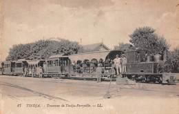 Tunisie - Tindja - Tramway De Tindja Ferryville- Tram - Tunisie