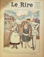 """REVUE """"LE RIRE""""-1923-234-DEAUVILLE-FAIVRE VERTES PAVIS GERBAULT NOB LEANDRE - Books, Magazines, Comics"""