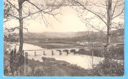 Domme (Environs De Sarlat-Dordogne)+/-1910-Le Pont Sur La Dordogne-panorama - Sarlat La Caneda