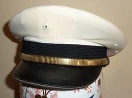 Berretto Bancroft Polizia USA Pompieri Incompleto - Originale -  Police Officers' Peaked Cap - Used (182) - Headpieces, Headdresses