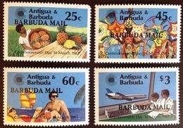 Barbuda 1983 Commonwealth Day Aircraft MNH - Antigua And Barbuda (1981-...)