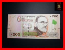 URUGUAY 200 Pesos Uruguayos 2015 P. 96 Serie F  UNC - Uruguay