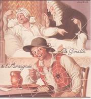 """Illustration De Jean Droit """"la Goutte Et L'araignée"""" - Vieux Papiers"""