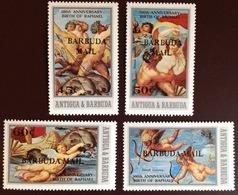 Barbuda 1983 Raphael Paintings MNH - Antigua And Barbuda (1981-...)