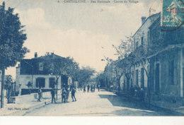 ALGERIE )) CASTIGLIONE   Rue Nationale    Centre Du Village 6 - Otras Ciudades