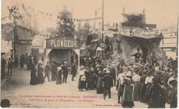 59 Roubaix Exposition Internationale Du Nord De La France1911  Luna Park La Perle De L'exposition  Le Plongeur - Roubaix