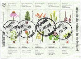 NVPH 3524-3534 2017 Botanische Tuinen In Nederland - Gebraucht