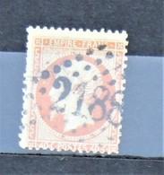 05 - 20 // France N° 23 - Oblitération GC 2188 - Le Mans - Sarthe - 1862 Napoléon III