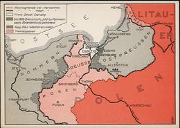 AK/CP Propaganda  Danzig  Gdansk    Nazi      Ungel/uncirc.1933-45   Erhaltung/Cond. 2  Nr. 01071 - Guerra 1939-45