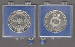 STAMP Exhibition Kecskemét HUNGARY 1985 MABÉOSZ Hungarian Philately Association Medal Commemorative - Fichas Y Medallas