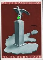 AK/CP Propaganda  Nürnberg  Reichsparteitag    Nazi      Gel/circ.1938   Erhaltung/Cond. 2- / 3    Nr. 01072 - Weltkrieg 1939-45