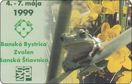 Greece Chip Phonecard Flower Frog Frosch - Griekenland