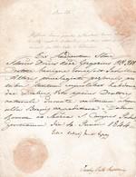 1844 - Document PAPAL Qui  Accorde Des INDULGENCES Aux Personnes Liées Aux Célébrations à Un Autel Privilégié. - Documents Historiques