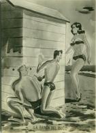 1950s HUMOR  PIN UP - LA BANDA DEL BUCO - Peeping Tom /  Voyeur - EDIZ. BROMOSTAMPA (1422) - Humour