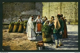 DUBROVNIK RAGUSA 1900s NACIONAL COSTUME    POSTCARD PRODAJA CUMURA  CROATIA - Croatia