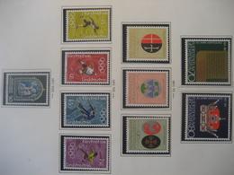 Liechtenstein- Marken Mi.Nr. 546-547, 548-550, 551-554, 555 Alle ** - Ungebraucht