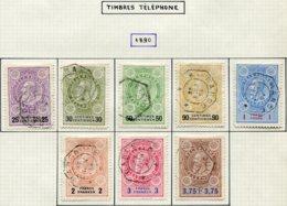 18187 BELGIQUE Collection Vendue Par Page Téléphone N° 1/8 °  1890  TB - Telefoonzegels