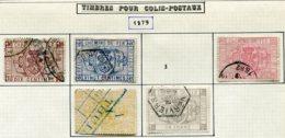 18188 BELGIQUE Collection Vendue Par Page Colis-postaux N° 1/6 °sauf 3    1879  B/TB - Belgium