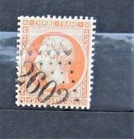 05 - 20 // France N° 23 - Oblitération GC 2602 - Nantes - 1862 Napoléon III