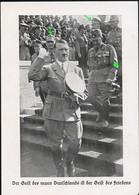 AK/CP Propaganda  Hitler  Hess  Himmler     Nazi      Ungel/uncirc.1933-45   Erhaltung/Cond. 2   Nr. 01073 - War 1939-45