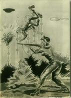 1950s HUMOR  PIN UP - HUNTER - EDIZ. BROMOSTAMPA (1428) - Humour