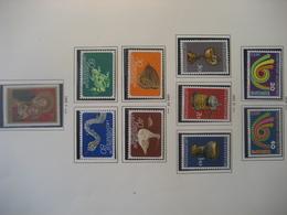 Liechtenstein- Marken  Mi.Nr. 579-580, 587-589, 591-594, 595 Alle ** - Ungebraucht