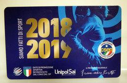 TESSERA CSEN 2018 - 2019 CONI - CIP - Organisations