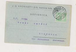 CROATIA HUNGARY 1912 VARAZDIN VARASD  J.G.KRONAST  Firm Postcard - Croatia